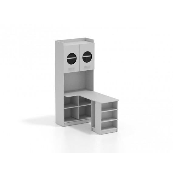 Regał z biurkiem RAJ 1